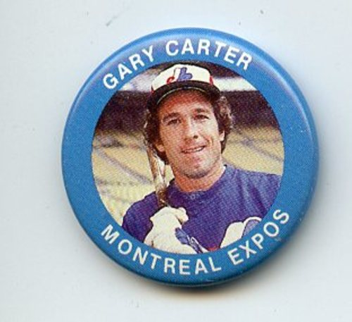 Photo of 1984 Fun Foods Pins #3 Gary Carter