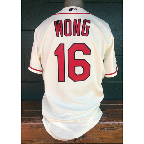 Photo of Cardinals Authentics: Kolten Wong Game-Used Saturday Alternate Jersey