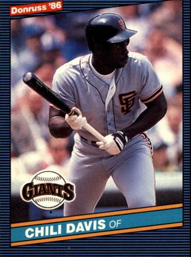 Photo of 1986 Donruss #65 Chili Davis