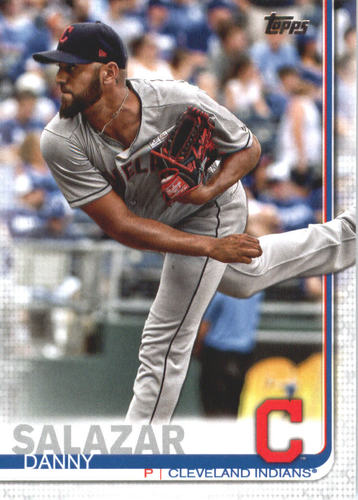 Photo of 2019 Topps #673 Danny Salazar