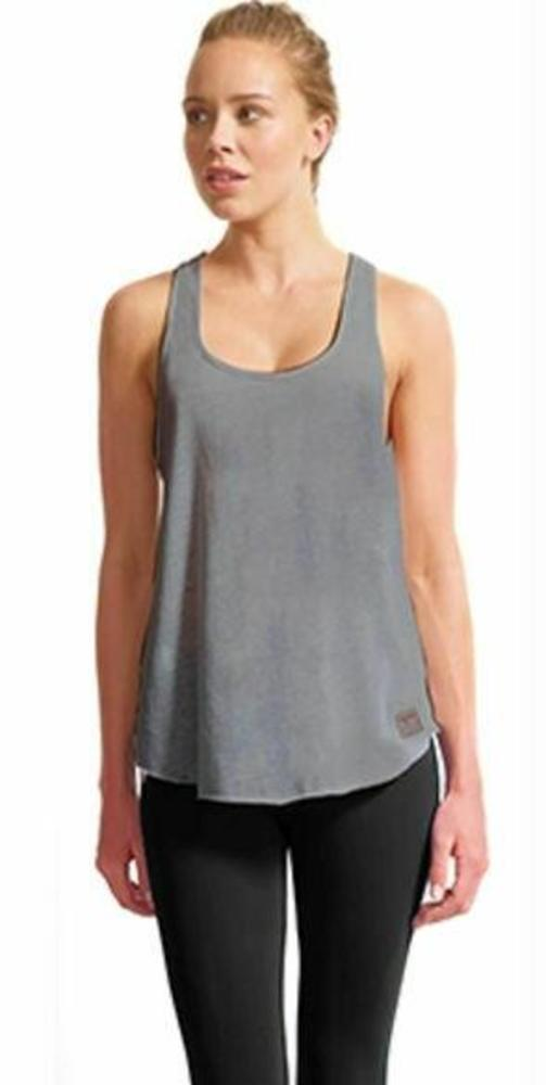 Photo of the Bar Method collaboration w Vimmia Womens Lo-Hi Core Racer Bk Tank