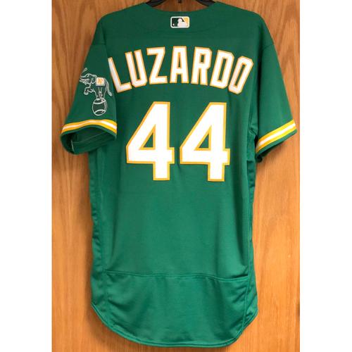 Photo of Game-Used Jersey: Jesus Luzardo - 9/4/20 vs SD