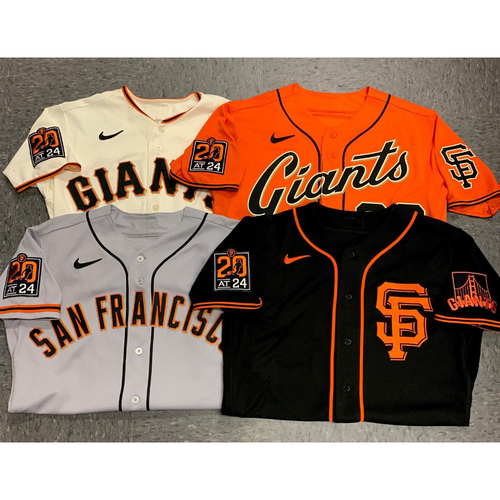 Photo of 2020 Black Friday Sale - 2020 Game Used and Team Issued Jersey Lot - 1 Randomly Selected Game Used or Team Issued Jersey in Each 2020 Regular Season Style (4 Jerseys) - Size 46