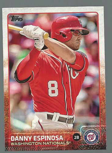 Photo of 2015 Topps #331 Danny Espinosa
