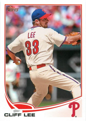 Photo of 2013 Topps #33 Cliff Lee