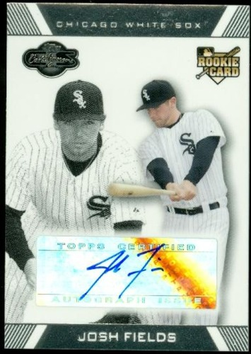 Photo of 2007 Topps Co-Signers #105 Josh Fields AU (RC)