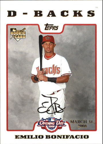 Photo of 2008 Topps Opening Day Gold #214 Emilio Bonifacio