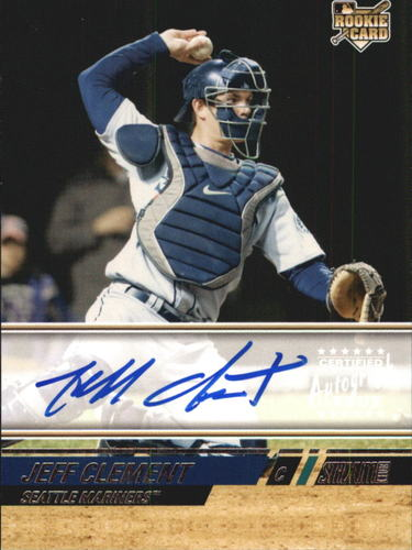 Photo of 2008 Stadium Club #168 Jeff Clement RC AUTO EXCH A