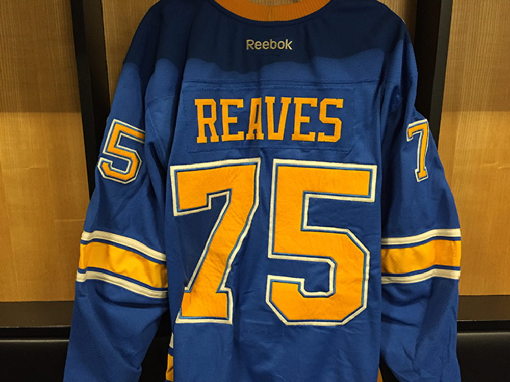 low priced f7f90 2b381 Ryan Reaves Winter Classic Game-worn Jersey - NHL Auctions