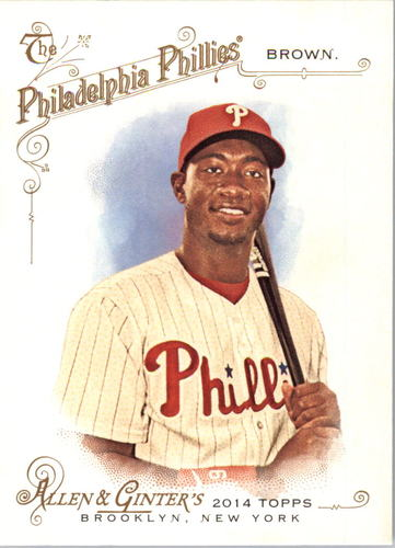 Photo of 2014 Topps Allen and Ginter #178 Domonic Brown