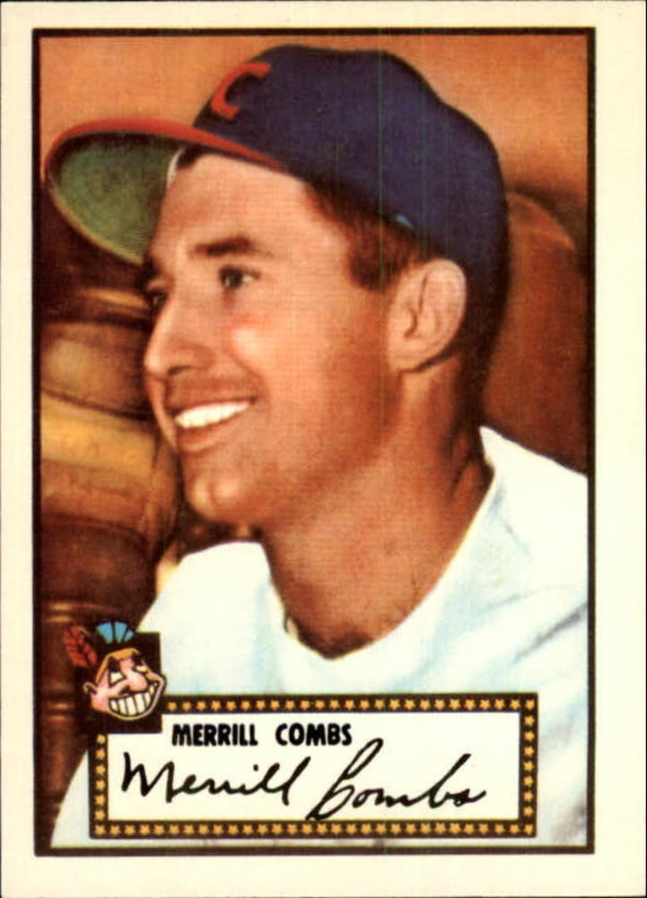 1983 Topps 1952 Reprint #18 Merrill Combs