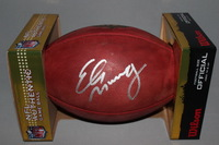 NFL - GIANTS ELI MANNING SIGNED AUTHENTIC FOOTBALL