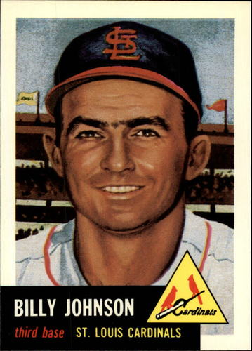 Photo of 1991 Topps Archives 1953 #21 Billy Johnson