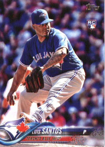 Photo of 2018 Topps #299 Luis Santos RC
