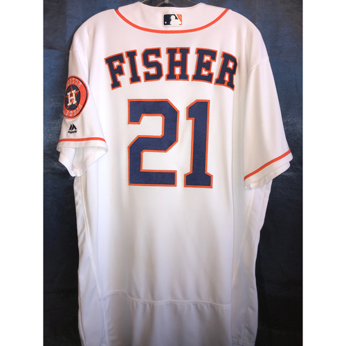 Photo of 2017 Game-Used Derek Fisher Home Jersey: Size - 46