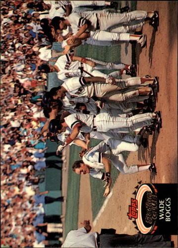 Photo of 1992 Stadium Club #520 Wade Boggs