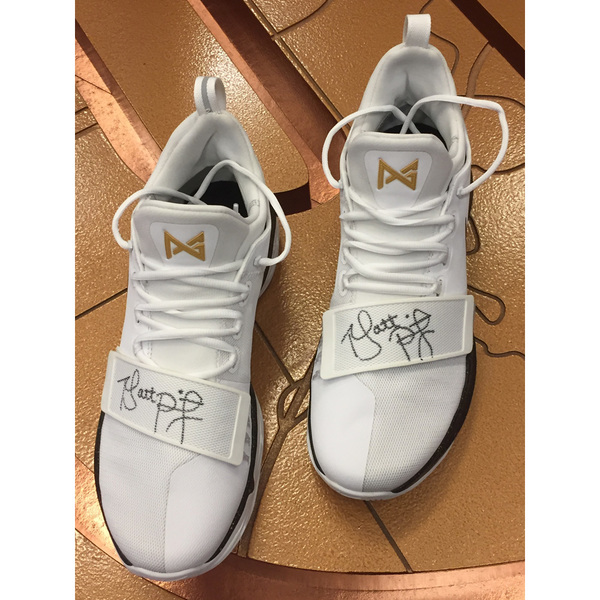 Photo of Nike Men's Basketball Shoes Signed by Coach Painter