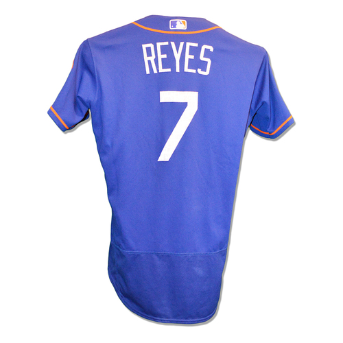 Photo of Jose Reyes #7 - Team Issued Spring Training Jersey - 2018 Spring Training