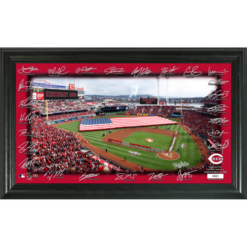 Photo of Cincinnati Reds Signature Field Photo Frame