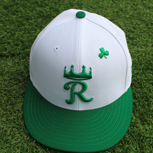 Photo of Game-Used St. Patrick's Day Cap: Erick Mejia (Size 7 - SF @ KC - 3/17/19)