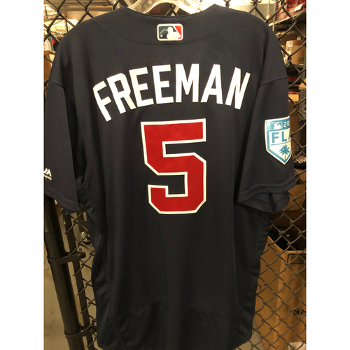 Photo of Freddie Freeman Game Used Spring Training Jersey