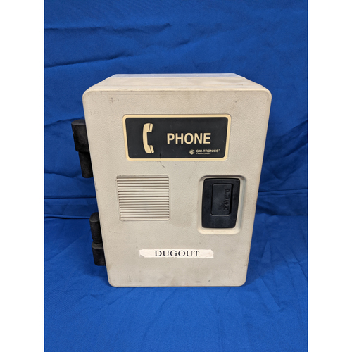 Photo of Los Angeles Team-Issued Angels Dugout Phone