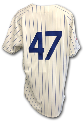 Photo of Randy Rosario Game-Used 1969 Uniform -- Reds vs. Cubs -- 7/16/19
