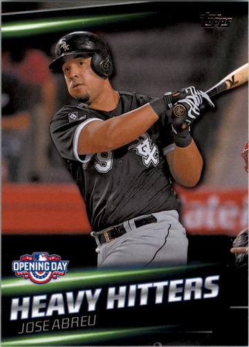 Photo of 2016 Topps Opening Day Heavy Hitters #HH14 Jose Abreu