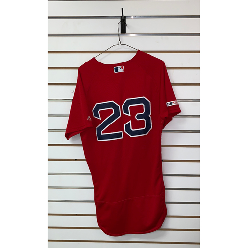 Photo of Michael Chavis Game Used June 21, 2019 Home Alternate Jersey
