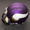 NFL - Vikings Linval Joseph signed Vikings proline helmet