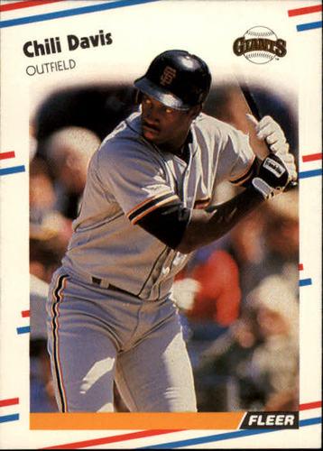 Photo of 1988 Fleer #79 Chili Davis