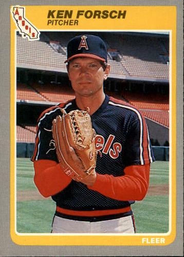 Photo of 1985 Fleer #301 Ken Forsch