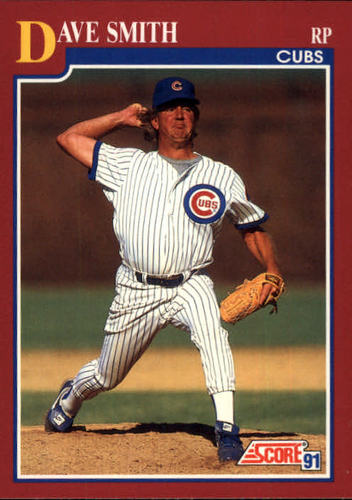 Photo of 1991 Score Rookie/Traded #9T Dave Smith
