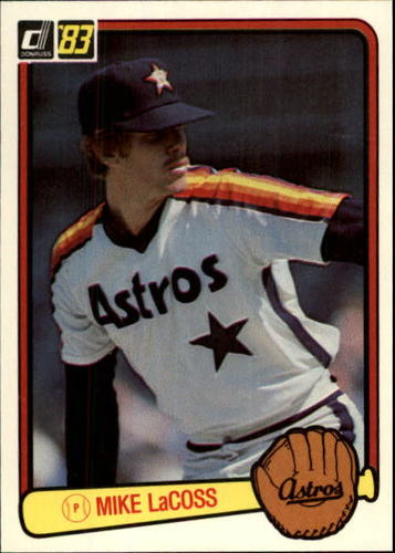 Photo of 1983 Donruss #344 Mike LaCoss