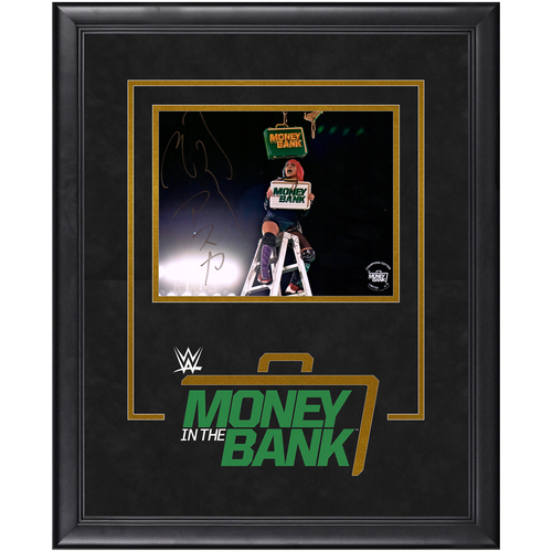 Photo of Asuka SIGNED Money In The Bank 2020 Champion's Edition Frame (Random Number)