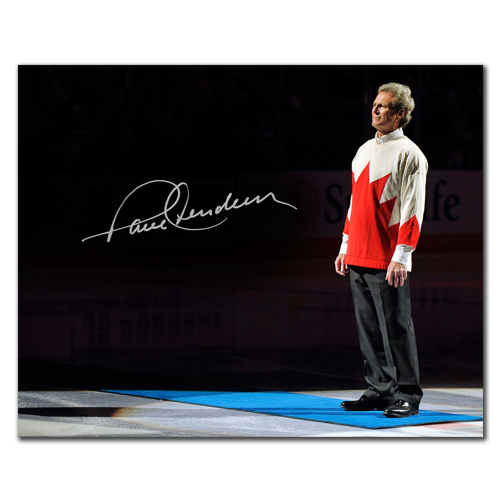 Paul Henderson Team Canada SALUTE Autographed 8x10