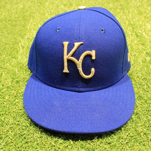 Photo of Game-Used 2020 Gold Hat: Ryan O'Hearn #66 (Size 7 1/4 - DET @ KC 9/25/20)