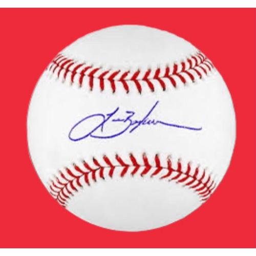 Photo of Lance Berkman Autographed Baseball