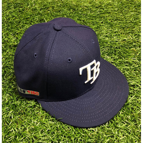 Photo of Opening Day Team Issued Cap: Matt Duffy #5 - March 28, 2019 v HOU