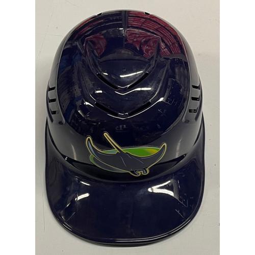 Photo of Rays Baseball Foundation: Team Issued Catcher's Helmet - Travis d'Arnaud