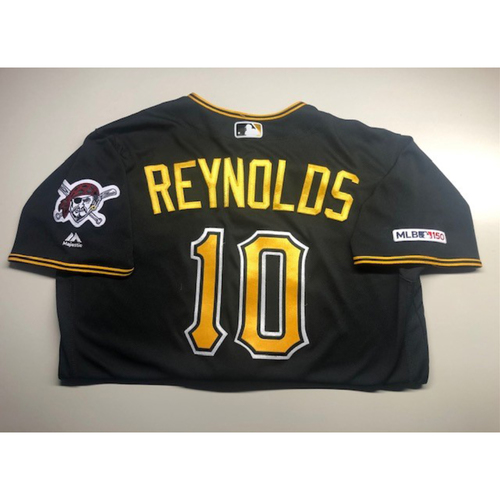 Photo of Game-Used Jersey: Bryan Reynolds - Multiple Games During 2019 Season