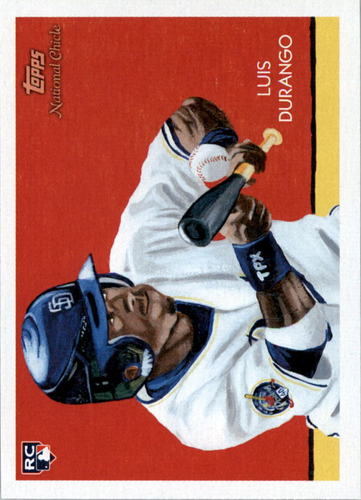 Photo of 2010 Topps National Chicle #268 Luis Durango RC