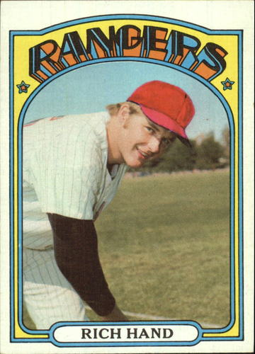 Photo of 1972 Topps #317 Rich Hand