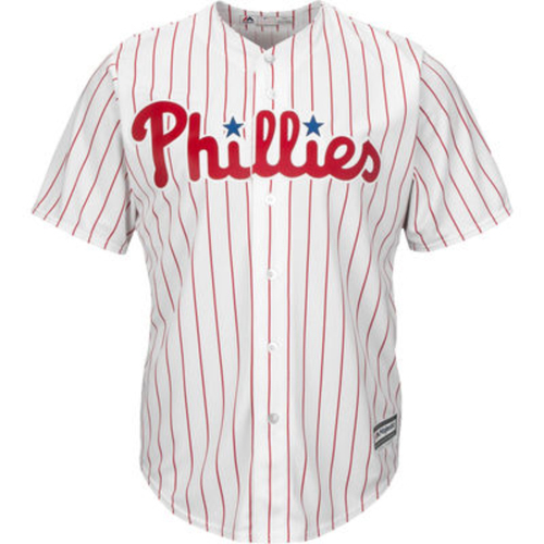 Photo of Phillies Jersey Autographed and Personalized by a Phillies Player of Your Choice