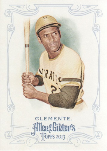 Photo of 2013 Topps Allen and Ginter #82 Roberto Clemente