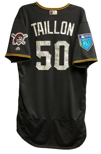 Photo of Jameson Taillon Team-Issued 2018 Spring Training Jersey