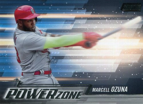 Photo of 2018 Stadium Club Power Zone #PZMO Marcell Ozuna