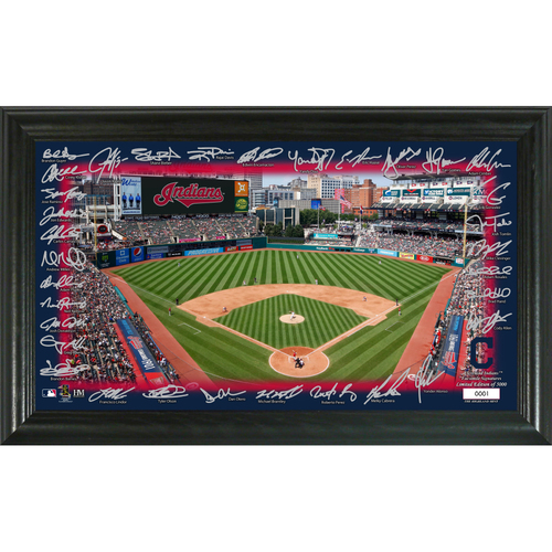 Photo of Cleveland Indians Signature Field Photo Frame