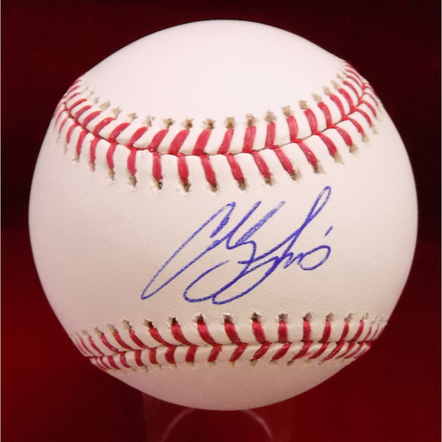 Photo of Colby Lewis Autographed Baseball