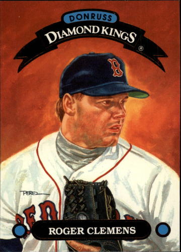 Photo of 1993 Donruss Diamond Kings #DK3 Roger Clemens